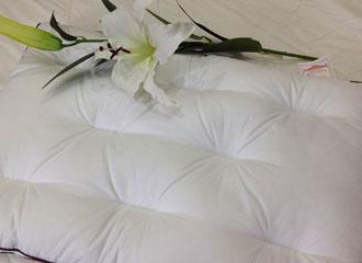 立体蜂巢羽丝枕